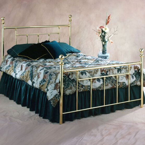 Full Bed with Bed Frame, 76'Lx55.9'Wx51½'H,