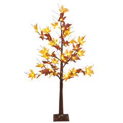 4' Pre-Lit Harvest Tree,