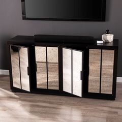 Louismere Mirrored Console Cabinet,