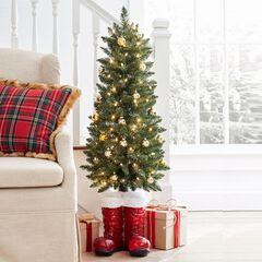 santa boots tree