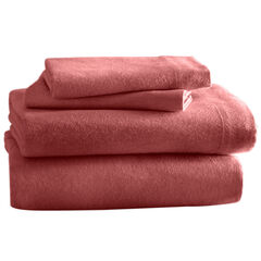 Cozy Cotton Solid Flannel Sheet Sets,