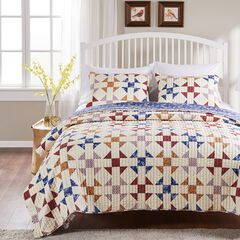 Savannah Ivory Quilt Set ,