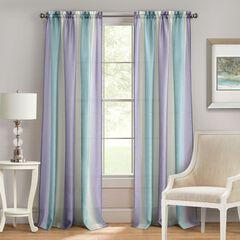 Spectrum Rod Pocket Window Curtain Panel,