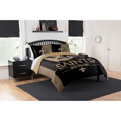 COMFORTER SET DRAFT-SAINTS,