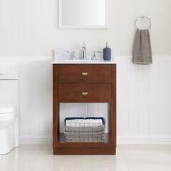 Lellerman Italian Marble Bath Vanity Sink,