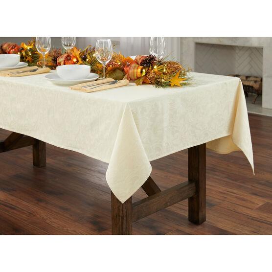 "damask 52"" x 70"" Tablecloth,"