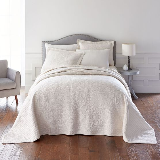 Gabrielle Embroidered Bedspread,