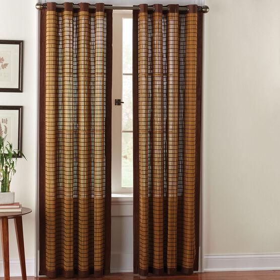 Bamboo Grommet Panel Brylane Home