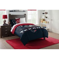 COMFORTER SET DRAFT-TEXANS,