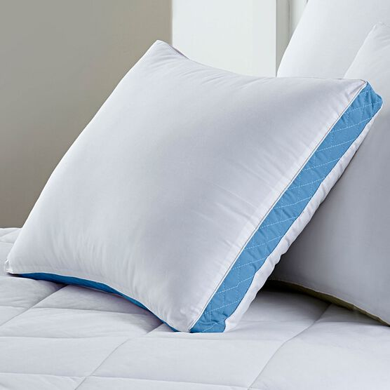 Gusseted Density 2-Pack Pillows, Firm,