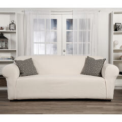 Embossed Stretch 1-Pc. Slipcover by Classic Slip Covers, Inc.,