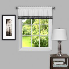 "Camden 58"" x 14"" Window Curtain Valance,"