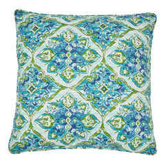 "20""Sq. Toss Pillow, ANTALYA BLUE"