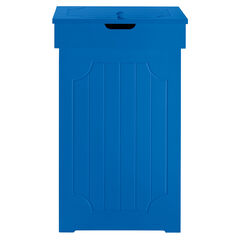 Cottage Kitchen Trash Can,