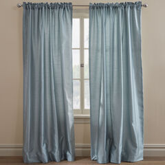 Ming Faux Silk Thermal-Lined Panel Pair,