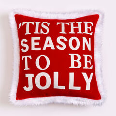'Tis The Season To Be Jolly Pillow,