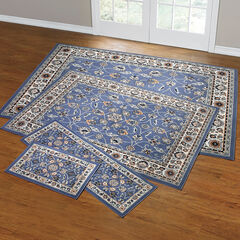 Floral Vine 4-Pc. Rug Set with Runner,