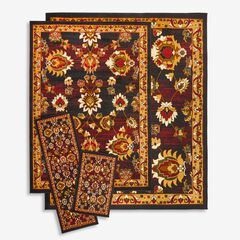 Leaves 4-Pc. Rug Set,