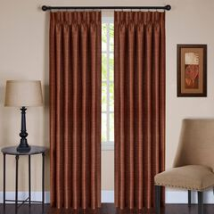 Parker Pinch Pleat Window Curtain Panel,