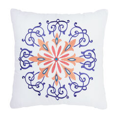 "BrylaneHome® Studio Dahlia 16"" Decorative Pillow,"