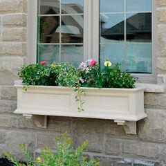 Mayne® Fairfield 4' Window Box, CLAY