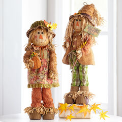 Scarecrow Couple,