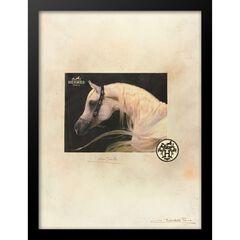 Hermes Horse 14x18 Framed Print,
