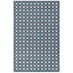 "Liora Manne Carmel Gingham Indoor/Outdoor Rug 23""X7'6"","