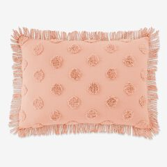 Pepper Dot Sham, BLUSH