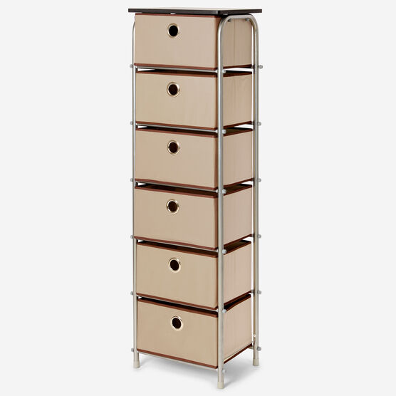 Eve 6-Drawer Tall Soft Storage,