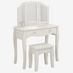 Lindsay Vanity with Stool,