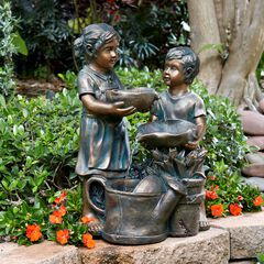 Boy and Girl Fountain,