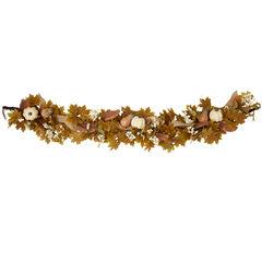 Napa Harvest Floral 6' Garland,