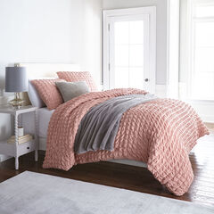 Brooke 4-Pc. Duvet Kit , VINTAGE PINK