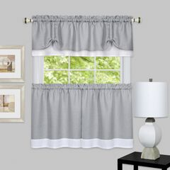 Darcy Window Curtain Tier and Valance Set,