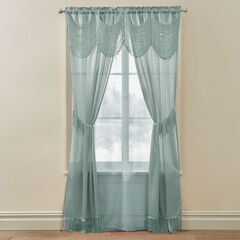 Halley 6-Pc. Window Set, ICE BLUE