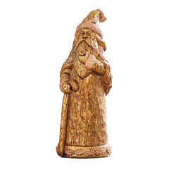 Gold Santa Statue ,