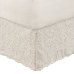 """Greenland Home Fashions Paisley Quilted Bed Skirt 18"""","""