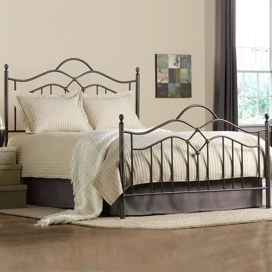 King Bed Set with Bed Frame, 83½'Lx79'Wx54'H,