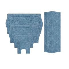 Waterford 5 Piece Set Bath Rug Collection,
