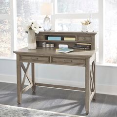 Mountain Lodge Student Desk with Hutch ,