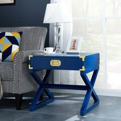 Campaign End Table,