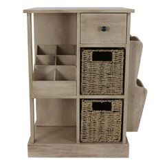 Accent Table with Storage & Shelves by J. Hunt,