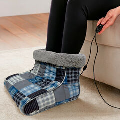 Microflannel Foot Warmers, SMOKY PLAID