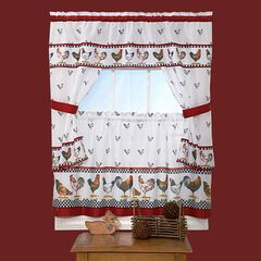 Top of the Morning Cottage Window Curtain Set,