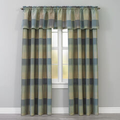 Plaid Rod-Pocket Valance,