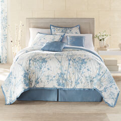 Funky Floral 6-Pc. Comforter Set, SOFT BLUE MULTI