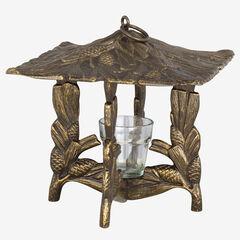 Pinecone Twilight Lantern,
