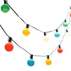 Multi-Color Globe Lights,