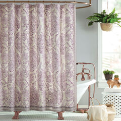 Jessica Simpson Jacky Shower Curtain, PURPLE